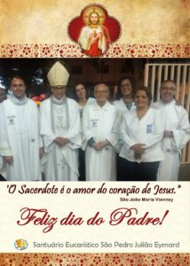 Feliz dia do Padre: Padre Jackson Frota, sss, Padre Raimundo Dan, sss, e Padre Juan Henrique, sss,