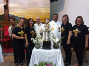 Terceiro dia do Tríduo de São Pedro Julião Eymard em Sete Lagoas