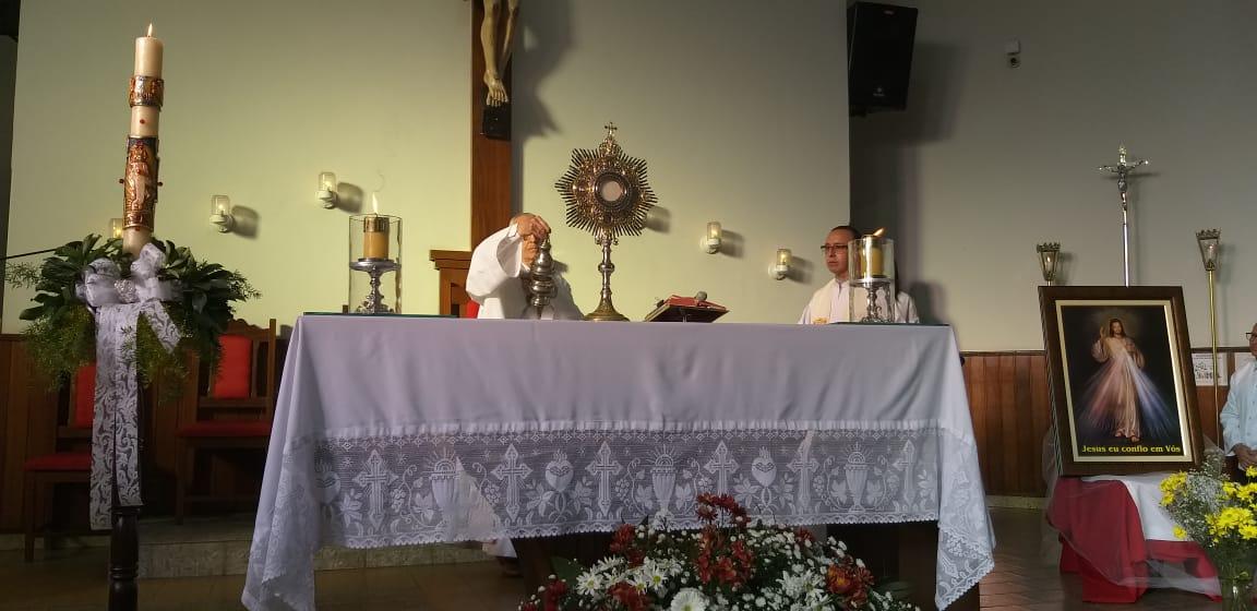 Santuário de Sete Lagoas realiza Festa da Divina Misericórdia 2019