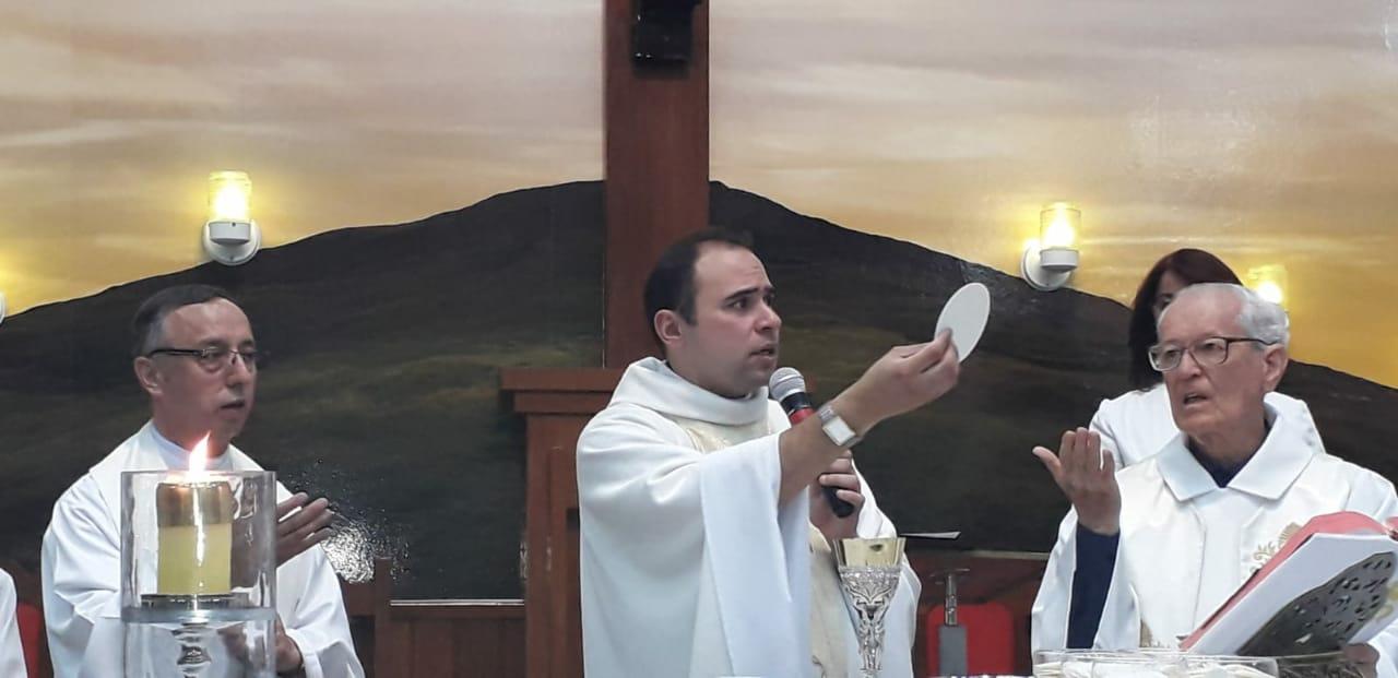 Padre Jackson Frota,sss – 15 anos de Ordenação Sacerdotal