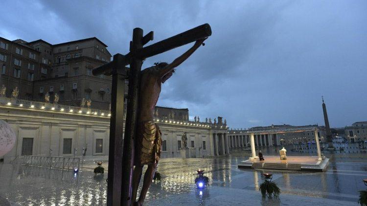 Reflexão de Papa Francisco sobre a vida após a pandemia