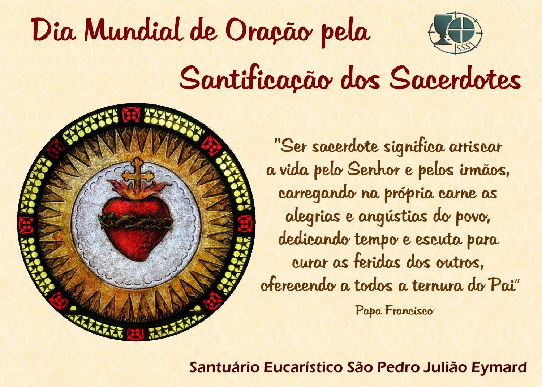 Dia Mundial de Oração pela Santificação dos Sacerdotes, 19/06