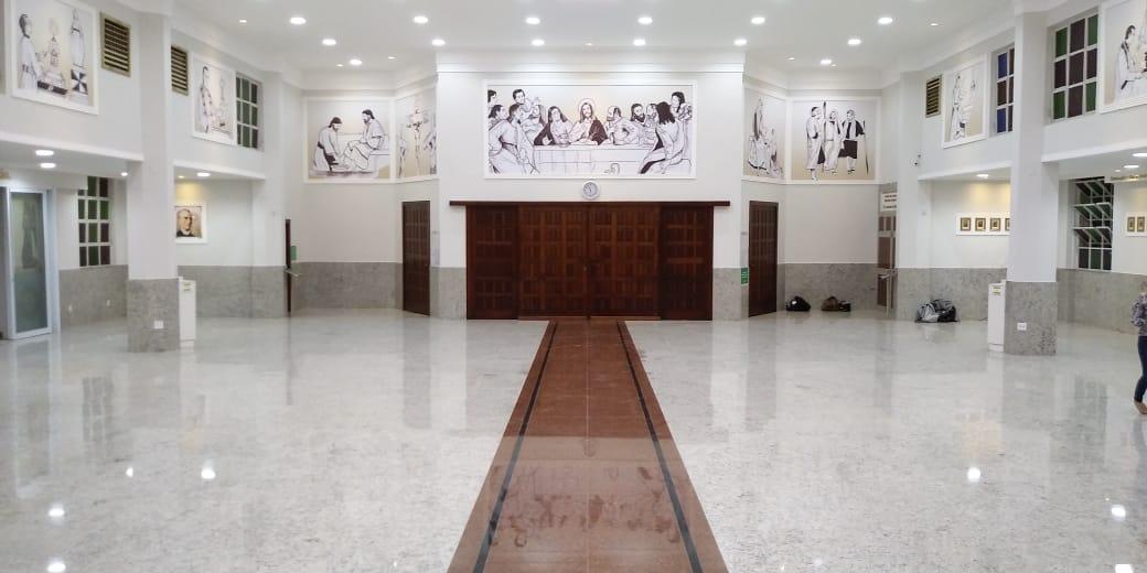 Reabertura gradual do Santuário Eucarístico a partir de 22 de agosto