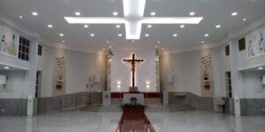 Concluída a reforma do Santuário Eucarístico de Sete Lagoas