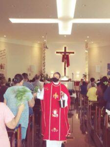 Domingo de Ramos: Fiéis participam da abertura da Semana Santa no Santuário Eucarístico de Sete Lagoas