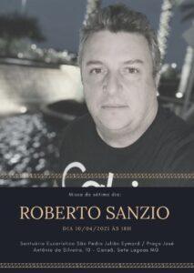Missa de 7º dia de Roberto Sanzio, 10/04.